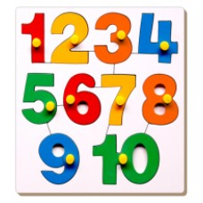 Number Inset Tray Puzzle